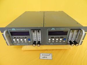 Inusa In2000 l2 rm Ozone Analyzer Afx Used Tested Working
