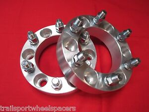 2 Pc 1 5 Wheels Spacers Adapters Early Chevy 7 16 K10 Truck K5 Blazer