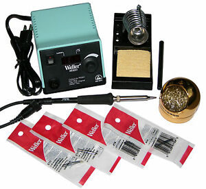 Weller Wesd51 Digital Soldering Station W screwdriver Tip Bundle