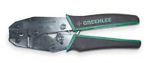 Ratchet Crimper 22 To 8 Awg 9 L Greenlee 45505