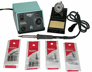 Weller Wes51 Analog Soldering Station With Chisel screwdriver Tip Bundle