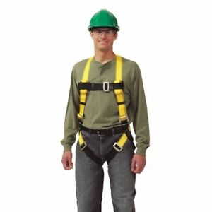 Full Body Harness Universal Yellow Msa 10072479