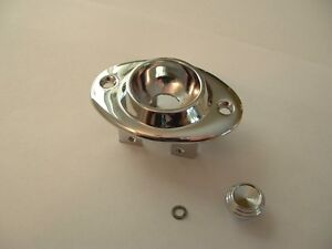 1954 1955 Cadillac Buick Olds Power Seat Switch Chrome Bezel Knob Packard 1956