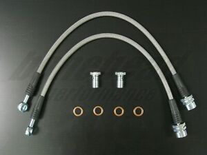 Techna Fit Stainless Steel Braided Brake Lines 1994 1998 Ford Mustang Cobra