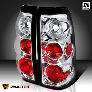 For 1999 2002 Chevy Silverado Gmc Sierra Rear Brake Tail Lights Lamps Left right