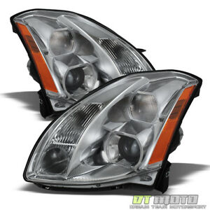 For 2004 2006 Maxima Replacement Projector Headlights Headlamps 04 06 Left right