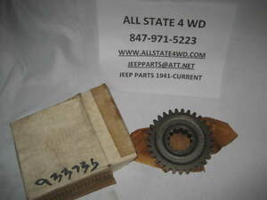 1972 79 Jeep Front Output Shaft Sliding Gear Dana 20 Transfer Case Jeep 933735