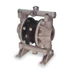 Aro 66605j 388 Double Diaphragm Pump Polypropylene Air Operated Urethane 13