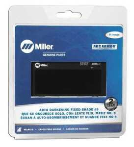 Miller Electric 770659 Welding Lens 2 X 4 In 9 Auto darkening