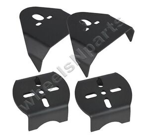 Upper Lower Rear Air Bag Mounting Brackets Weld On Air Ride Suspension