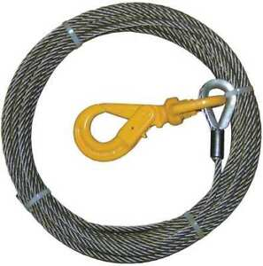 B a Products Co 4 38sc75lh Winch Cable steel 3 8 In X 75 Ft