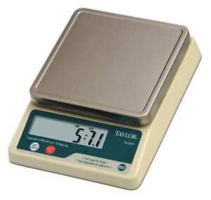 Digital Compact Bench Scale 5kg 10 Lb Capacity Taylor Te10ft