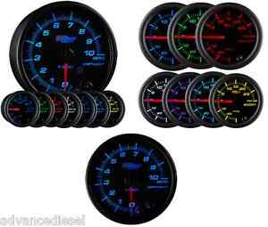 Glowshift Black 7 Color 3 3 4 In Dash Tachometer Gauge Gs C716