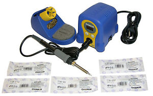 Hakko Fx888d 23by Soldering Station With Chisel Bundle T18 d08 d12 d24 d32 s3
