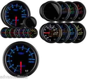 Glowshift Tinted 7 Color 2 Tachometer Gauge Gs t710