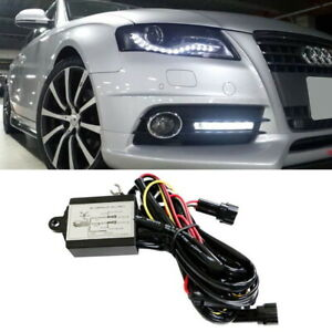 Universal Led Daytime Running Light Automatic On Off Controller Module Box Relay