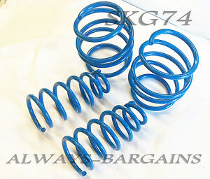 Manzo Lowering Springs Fits Mini Cooper Base S R50 R53 2002 2007 4pcs Skg74
