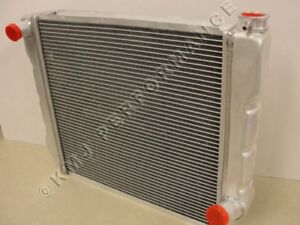 Chevy Gm Style 29 x19 Heavy Duty Aluminum Crossflow Radiator Universal Fit