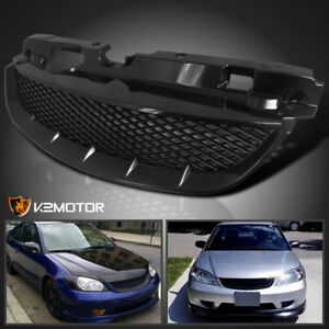 For 04 05 Honda Civic 2dr Coupe 4dr Sedan T R Front Hood Grill Grille Assembly