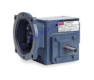 Dayton 4rp44 Speed Reducer 56c 40 1 Ratio C Face 1750 44 Rpm Double Output Angle