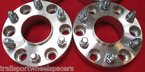 2 Pcs 6 Lug Chevy Gm 1500 Truck Tahoe 2 Hub Centric Wheel Spacers Adapter