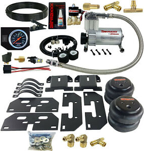 No Drill Tow Assist Kit On Board Air Management 2003 13 Dodge Ram 2500 3500 1 2