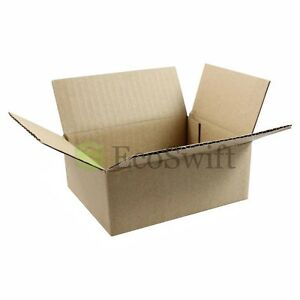 200 5x4x2 Cardboard Packing Mailing Moving Shipping Boxes Corrugated Box Cartons