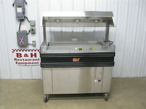 Bk Industries Bki 4 Chicken Hot Food Merchandiser 48 Heated Display Case Mm 4