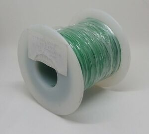 Green 30 Awg Insulated Wire Wrap Ul 1423 Usa Made