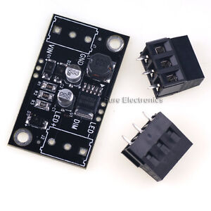 50pcs Sure 9v 30v Pwm Step down Buck Driver For 5w Led Dc dc Power Supply Module
