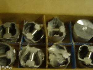 L2252f Forged Pistons 350 Chevy Dome Set Of 8 Usa Made