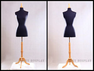 Female Size 2 4 Jersey Cover Body Form Mannequin Dress Form f2 4bk bs 01nx