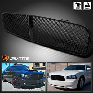 2006 2010 Dodge Charger Black Mesh Abs Front Upper Bumper Grill Grille
