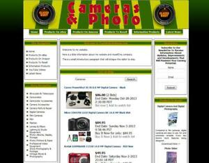 Digital Camera Store Make Money With Your Own E commerce Website
