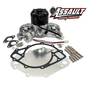 Big Block Ford 429 460 Electric High Volume Hv Chrome Water Pump