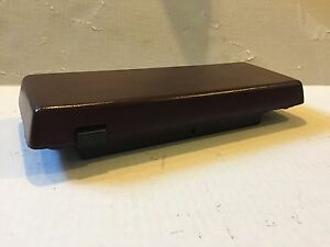 78 88 Monte Carlo Ss El Camino New Maroon Console Door Lid And Hinge Armrest