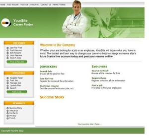 Doctor Job Search Website Optional Hosting Free Domain For 1 Year
