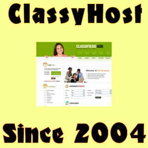 Classified Website Business For Sale Make Money From Home Free Domain Name