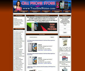 Established Cell Phone Mobile Online Business Website For Sale Free Domain Name
