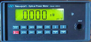 Newport 1830 c Optical Power Meter