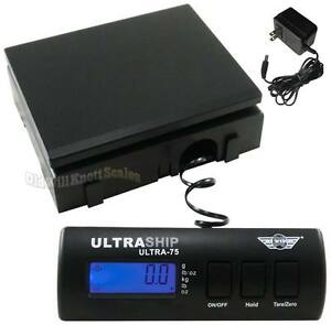 My Weigh Ultraship 75 Digital Scale _ ac Noss_ Postal Shipping Postage Bench