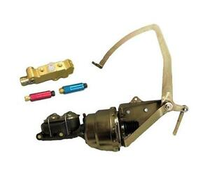 1955 59 Chevy Truck Disc Drum Power Brake Booster Frame Mount Pedal Assembly Kit