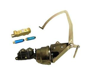 1955 59 Chevy Truck Disc Disc Power Brake Booster Frame Mount Pedal Assembly Kit