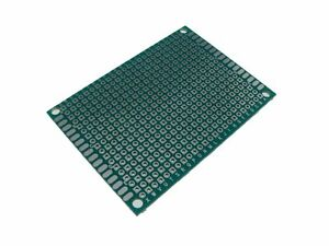 5pcs Hq 5 7cm Double Side Prototype Board Perforated 2 54mm Plated Through Hole