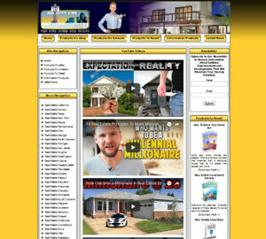 Fully Automated Real Estate Website For Sale Amazon Store Adsense