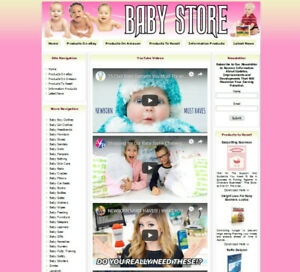 New Baby Toy Shop Online Business Website For Sale Ebay amazon google dropship