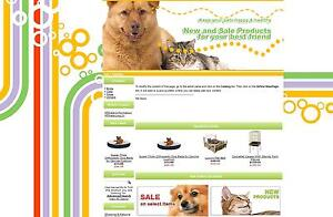 Pet Supplies Store Ready To Go Online Business Ecommerce Shopping Cart