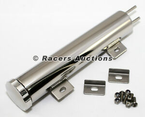 13x2 Stainless Radiator Overflow Tank 20 Oz Universal Catch Can