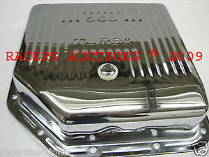 Gm Turbo 350 Deep Chrome Automatic Transmission Pan Extra Capacity Th350