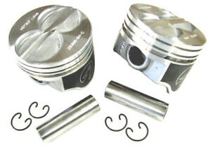 Speed Pro H273cp Small Block Ford 289 302 Flat Top Hyper Pistons Std Bore Sbf